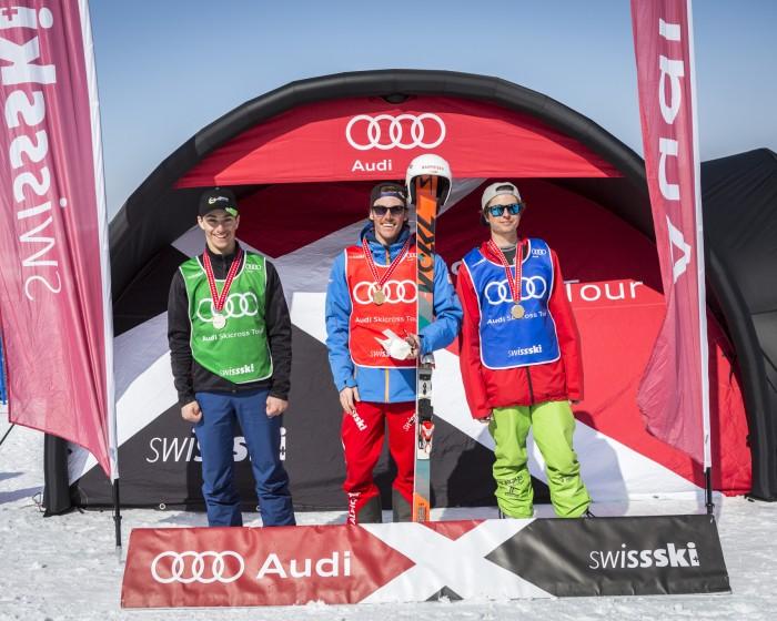 Audi Skicross Open, Zweisimmen, Switzerland. © www.dominicsteinmann.com