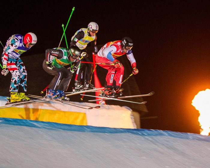 Ski Cross Arosa Nacht
